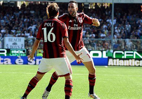 Serie A: Cesena 1x1 Milan