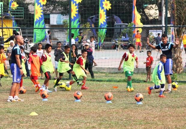 Lima pemenang adidas Predator Hunt dipilih berdasarkan hasil seleksi di Chelsea Football Club Soccer School Indonesia