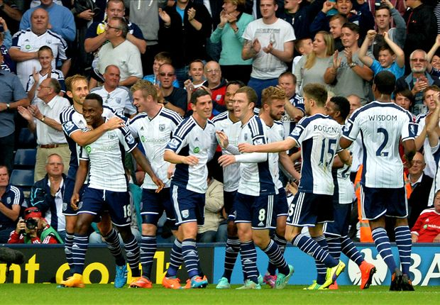 West Brom 4-0 Burnley: Berahino leads Baggies to second straight league win