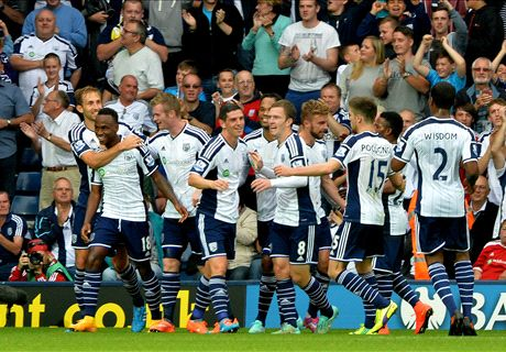 Résumé de match, West-Bromwich-Burnley (4-0)