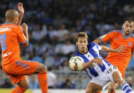 Report: Real Sociedad 1-1 Valencia