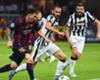 Lionel Messi takes on Juventus in the 2015 Champions League final
