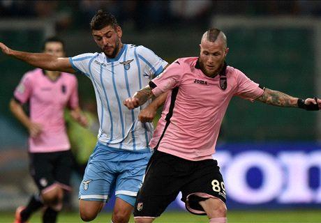 Serie A: Palermo 0-4 Lazio