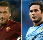 Totti e Lampard, due simboli a confronto