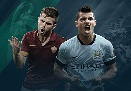 LIVE: Manchester City 1-1 Roma