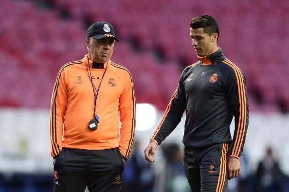 أنشيلوتي عن رونالدو: لا شكوك حول من سيفوز بالكرة الذهبية -