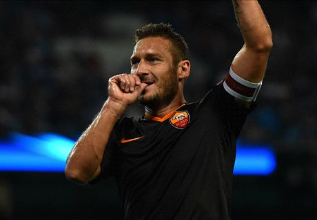 No Totti, no party for impressive Roma