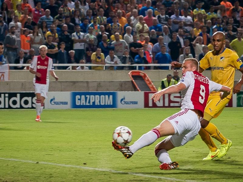 Laporan Pertandingan: APOEL 1-1 Ajax