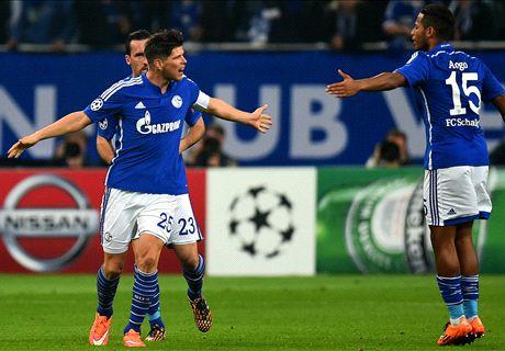Schalke bir bir ilerliyor...
