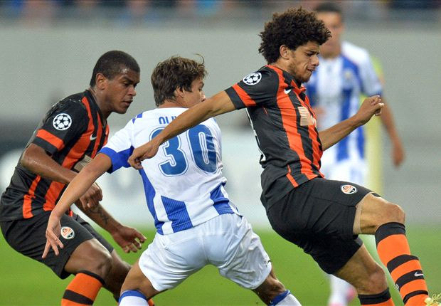 Shakhtar Donetsk 2-2 Porto: Two late Martinez goals give Portuguese point from nowhere