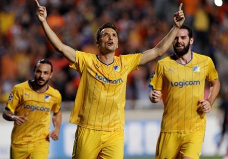 Tablas en Chipre entre APOEL y Ajax
