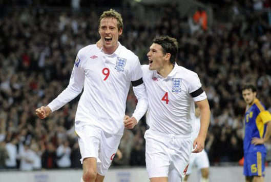 WCQ: Peter Crouch, England - Ukraine (PA)