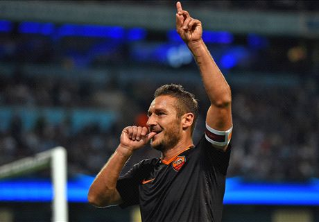 Totti: Roma unlucky to not to win