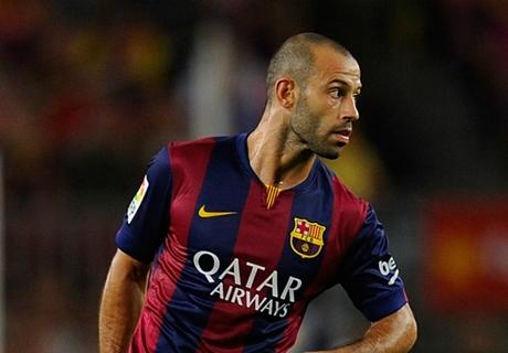Mascherano 'worried' by Barca defeat