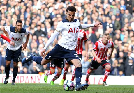Dele Alli penalty sinks Southampton