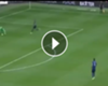 VIDEO: El increíble error de Valdés ante el Manchester United