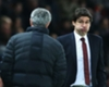 Jose Mourinho (L) and Aitor Karanka