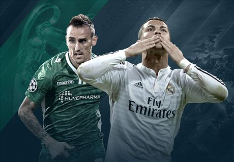 LIVE: Ludogorets 0-0 Real Madrid
