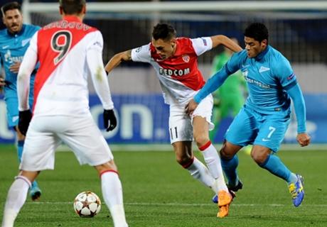 Notes des joueurs, Zenit-Monaco