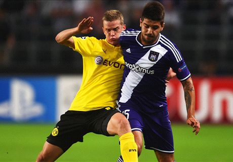 Previa Champions: Dortmund - Anderlecht