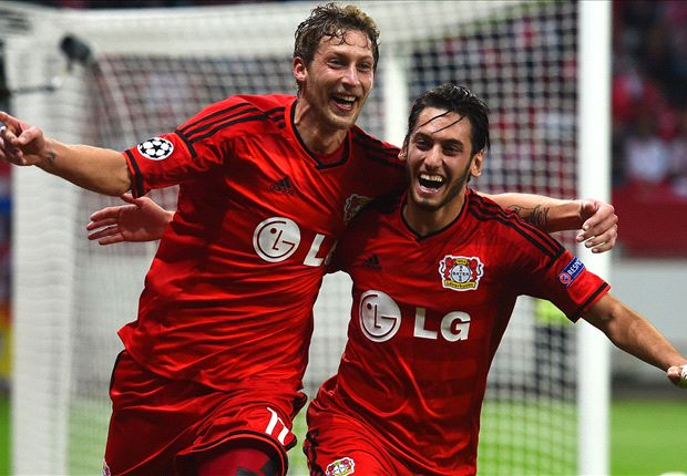 Bayer Leverkusen 3-1 Benfica: Son shines as hosts stroll to victory