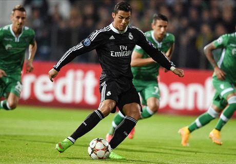 Benzema bails out Ronaldo