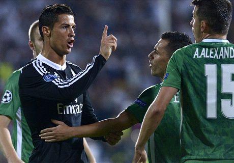 LIVE: Ludogorets 1-1 Real Madrid