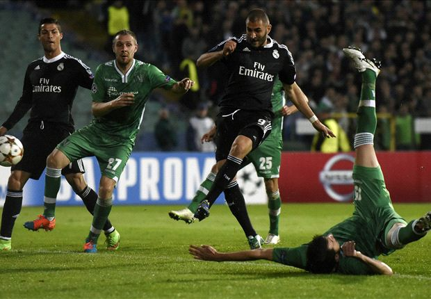 Ludogorets 1-2 Real Madrid: Benzema saves Blancos from the bench
