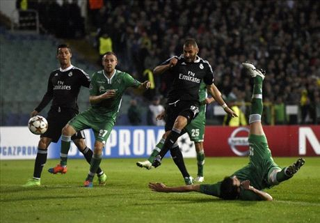 Madrid Survives Strong Ludogorets
