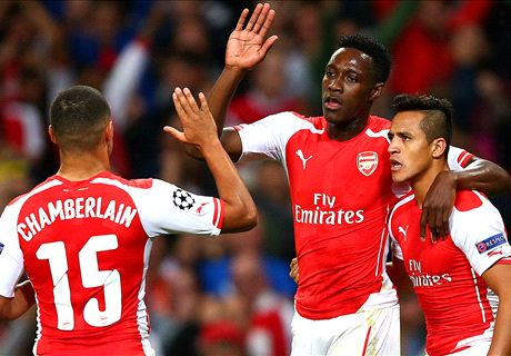 Strong Attack Lifts Arsenal