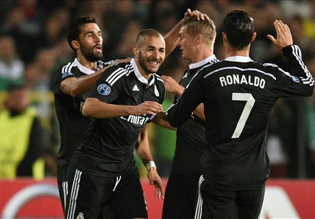 Benzema winner averts Ludogorets shock