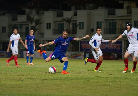 Warriors title charge halted by Balestier