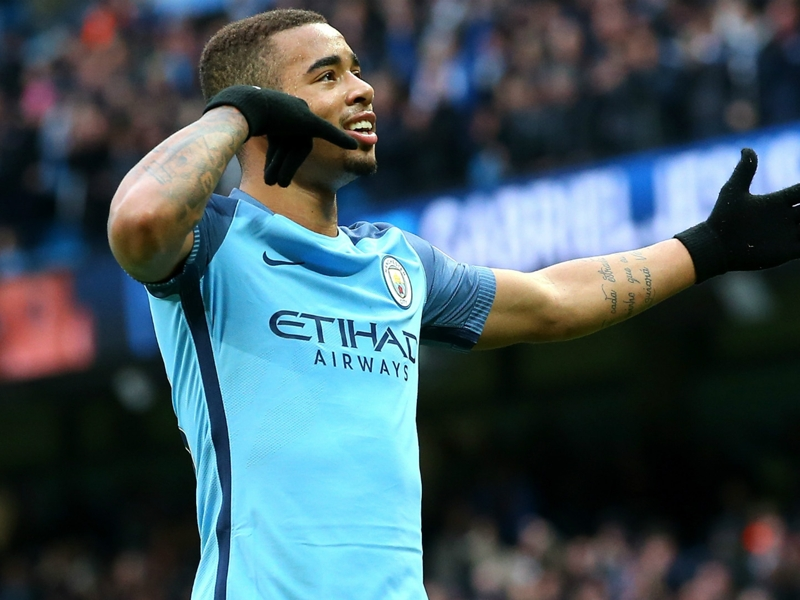 Gabriel Jesus could start Man City's FA Cup semi-final against Arsenal