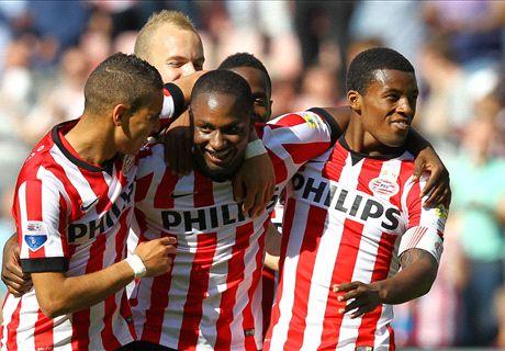 Opstellingen: PSV - AZ