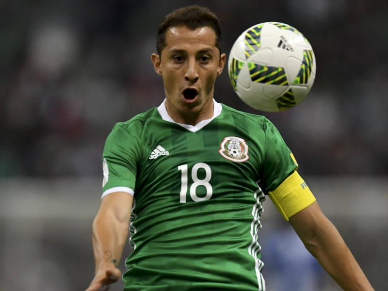 Andres Guardado out of Mexico national team matches with leg injury