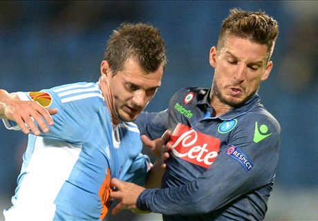 Report: Slovan Bratislava 0-2 Napoli