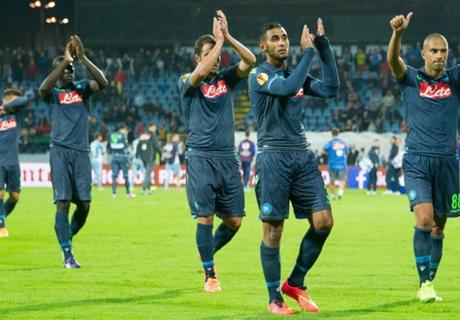Higuaín le dio la victoria a Napoli