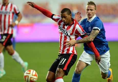 REVIEW Grup E & F Liga Europa: PSV Kandas, ASSE Imbang