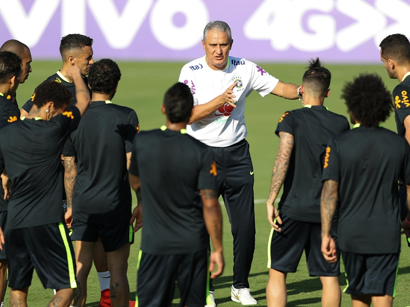 Tite reveals Brazil team to face Uruguay - with Liverpool and Real Madrid stars back in the XI