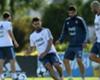 Agüero será titular contra Chile por la lesión de Dybala