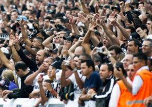La torcida de Corinthians es la segunda más grande de Brasil.