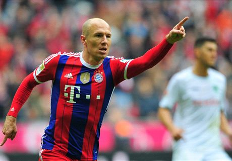 Robben: Roma play best football in Italy