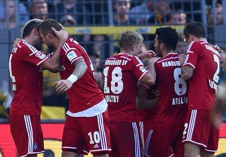 Player Ratings: Dortmund 0-1 Hamburg
