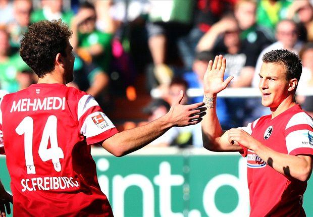 Vladimir Darida brachte den SC Freiburg in Bremen in Führung