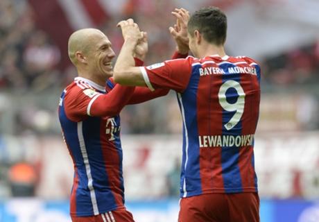 Player Ratings: Bayern 4-0 Hannover