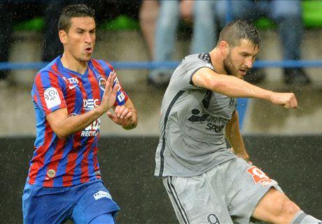 Résumé de match, Caen-Marseille (1-2)