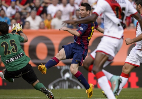 Match Report: Rayo 0-2 Barcelona