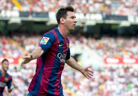 Noten: Messi torgefährlich