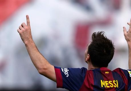 La Liga: Messi holt Tor-Rekord
