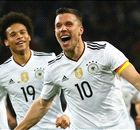 Podolski downs England in final game